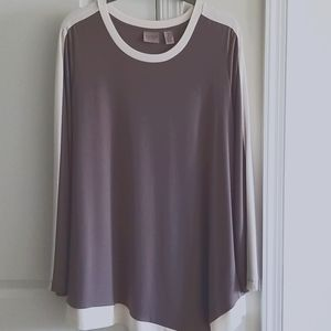 Chicos Easy Wear Tunic top